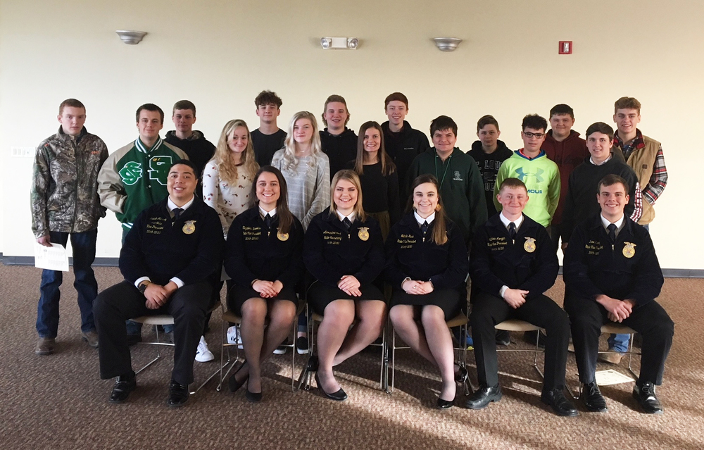 Ste. Genevieve FFA Chapter Attends Greenhand Motivational Conference