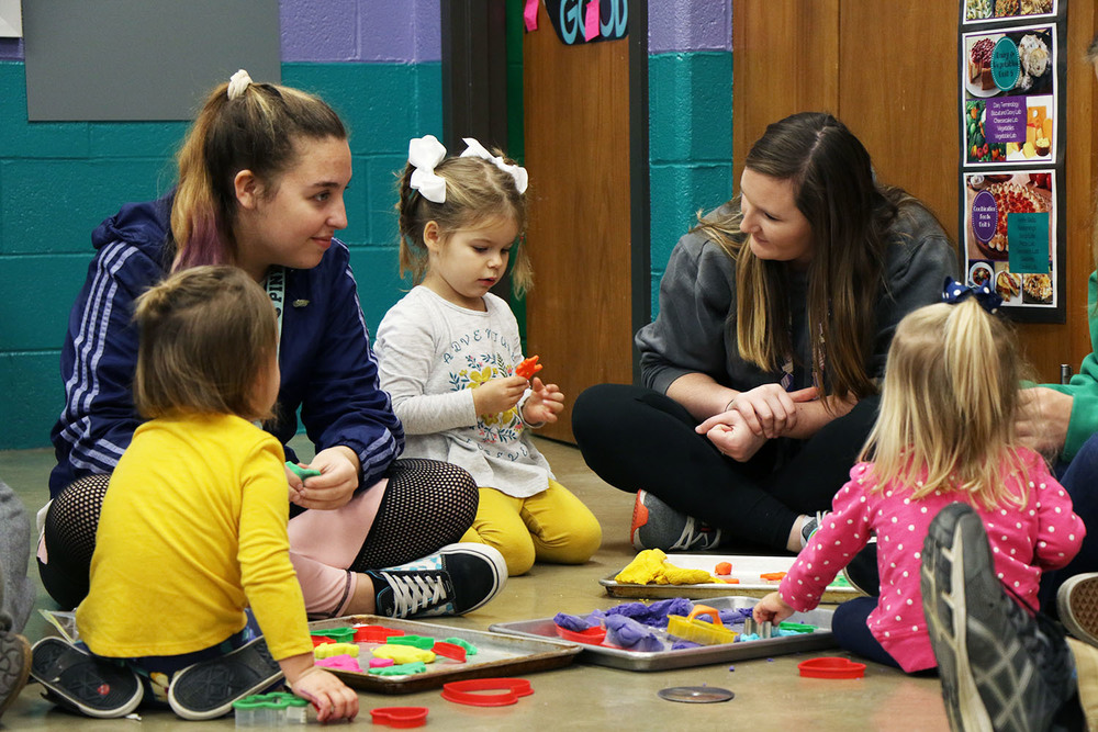 SGHS Child Development Class Hosts Second Annual Toddler Day