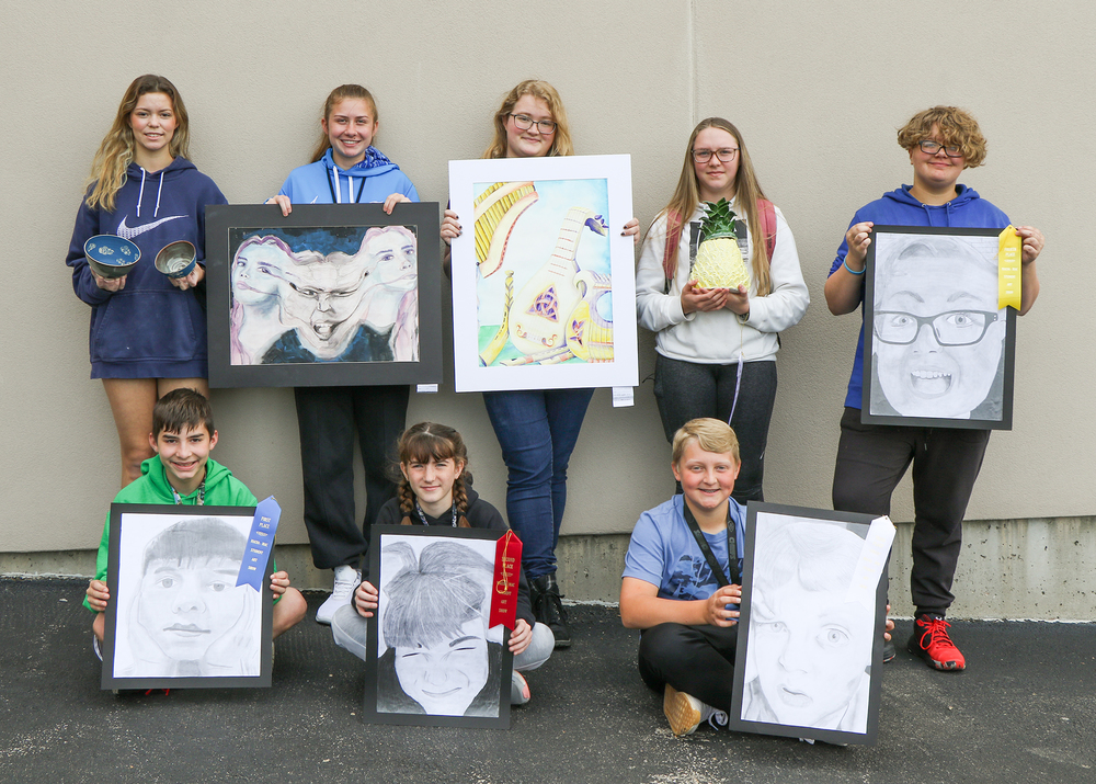 SG R-II Students Recognized as  Mineral Area K - 12 Student Art Show Winners