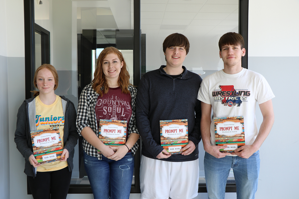 SGHS Students Recognized in Mineral Area College's Annual Word Fest Writing Contest