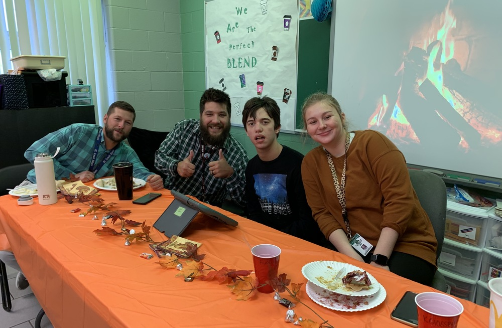 Life Skills Class Hosts 4th Annual Thanksgiving Feast
