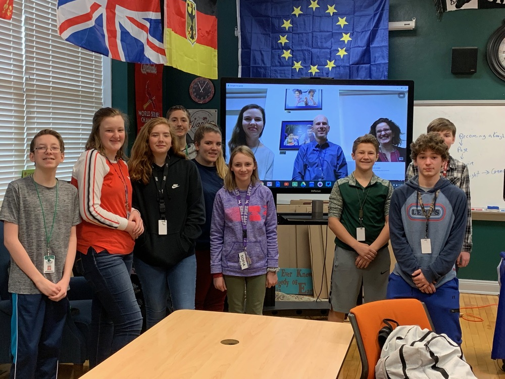 SGMS Students Meet U.S. Diplomats in Guatemala