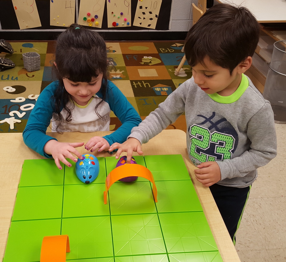 Bloomsdale Elementary Preschool Receives Coding Set Through Donations