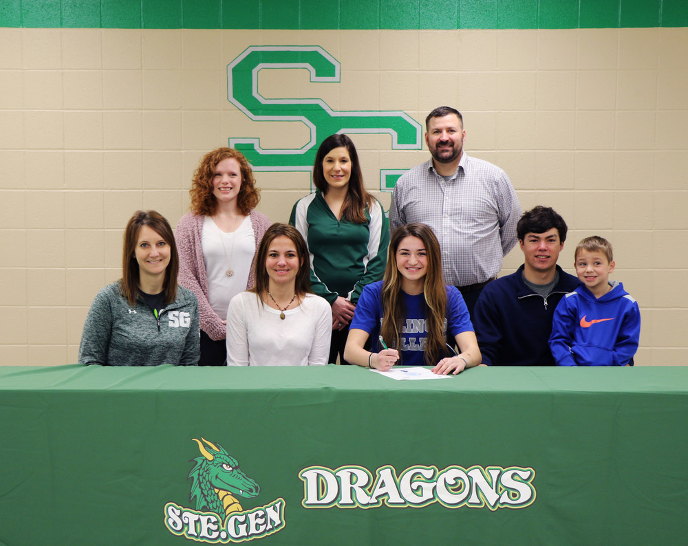 Ste. Genevieve High School Senior Jennifer Humbolt Signs with Illinois College