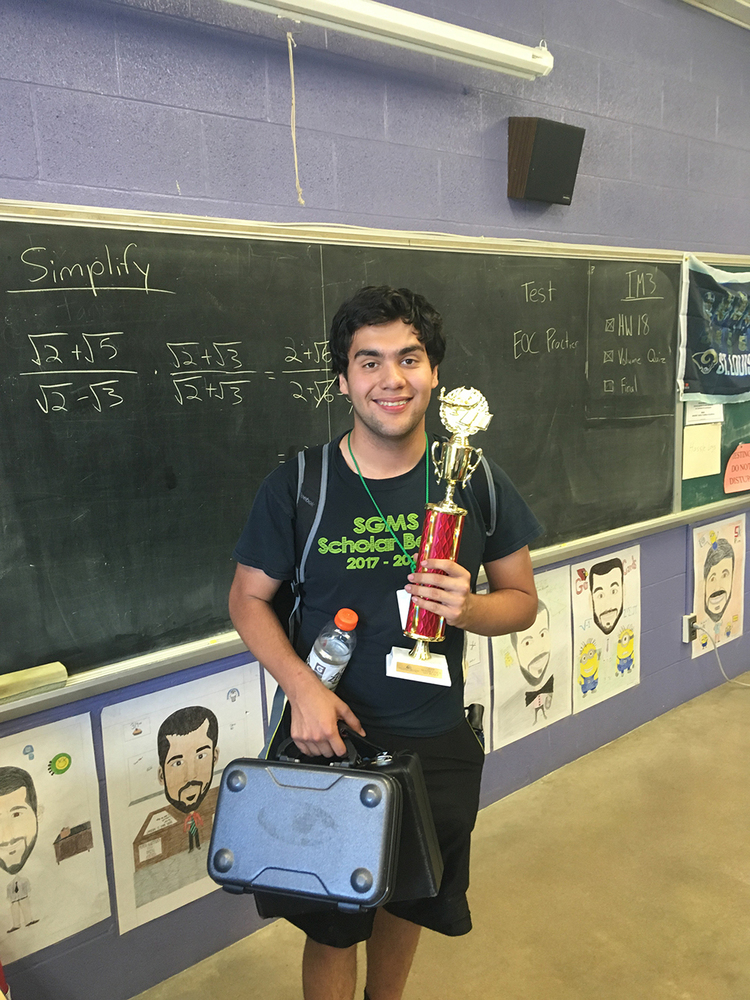 SGHS Math Students Bring Home Awards from Math Field Day
