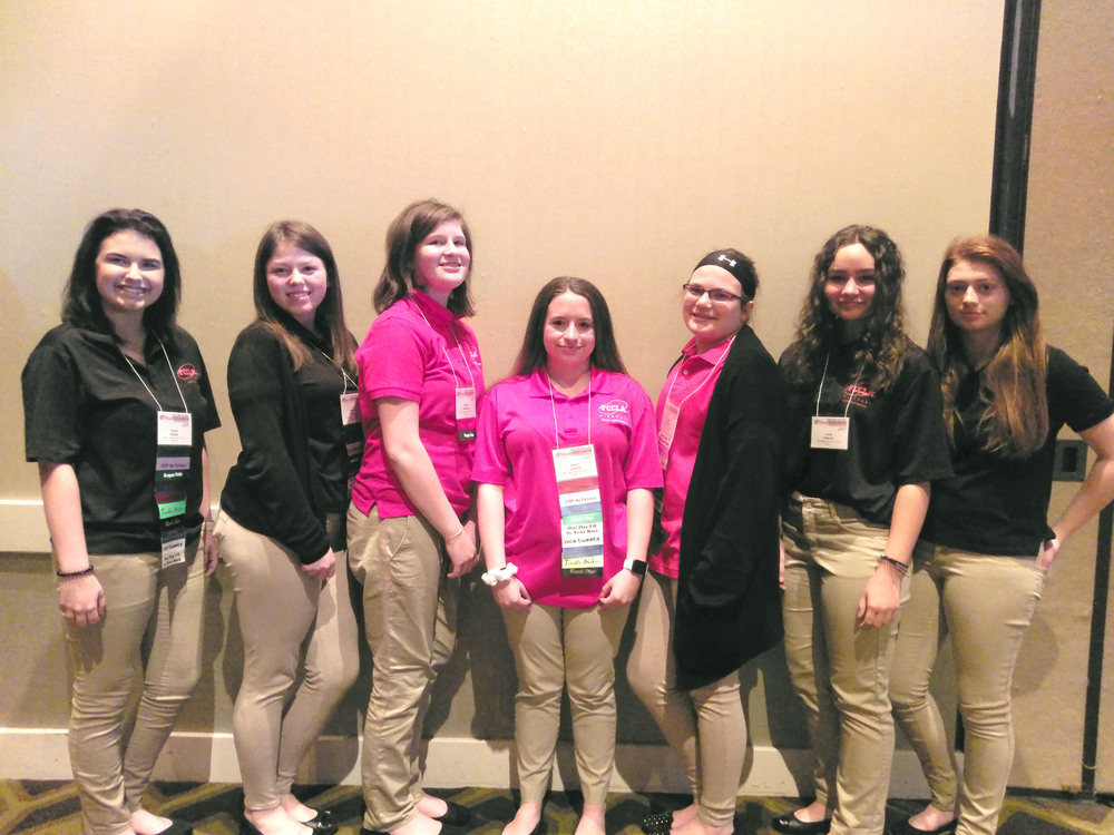FCCLA Students Compete & Lead Workshop at State Conference