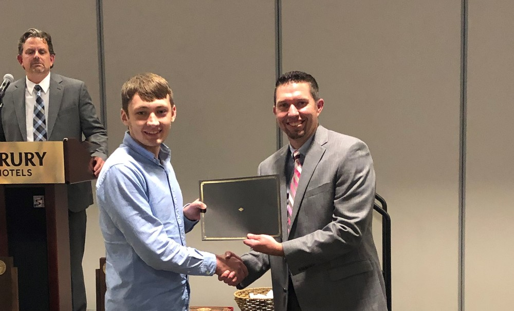 Senior Clayton Huck Recognized as Finalist for Southeast Missouri Superintendents Association's Student of the Year Award