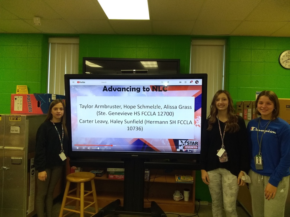 FCCLA Members Attend Virtual State Conference  & Earn Awards for STAR Events