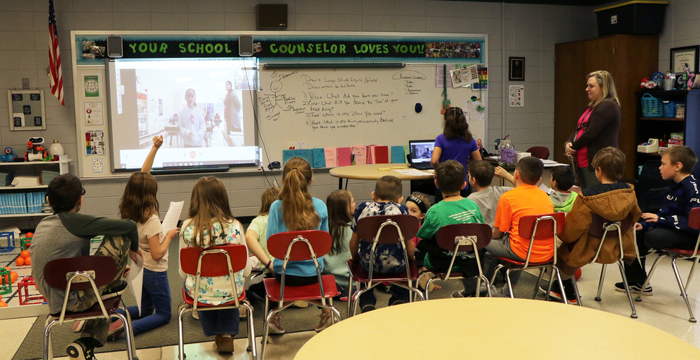 Bloomsdale Elementary Students Meet & Greet Peers Through Global Collaboration