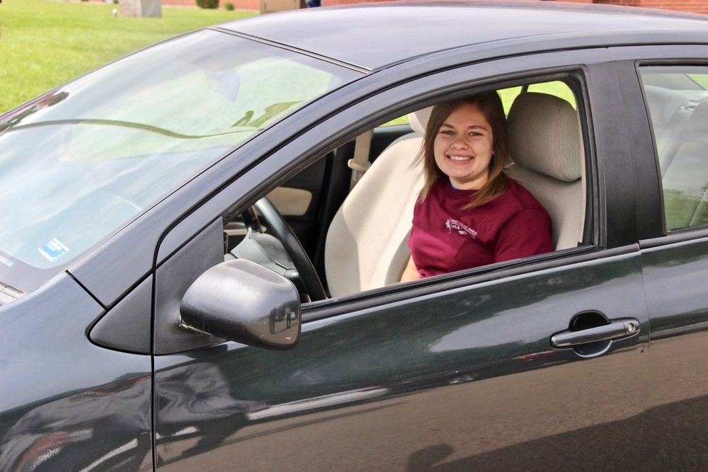 Senior with Perfect Attendance Wins Vehicle from PACTC