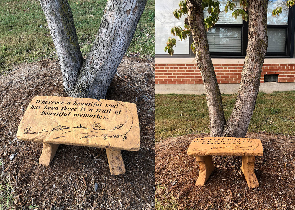 SGE Remembers Former Teacher Through Bench Memorial