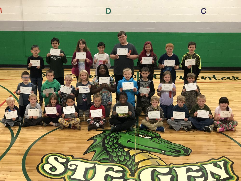 Ste. Genevieve Elementary Celebrates October Student of the Month