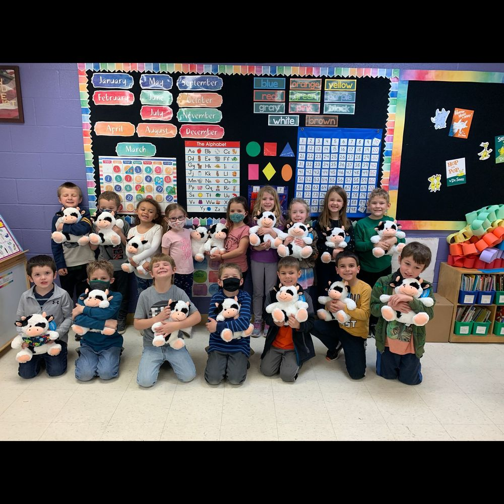 Preschool & Kindergarten Students Receive Plush Donations