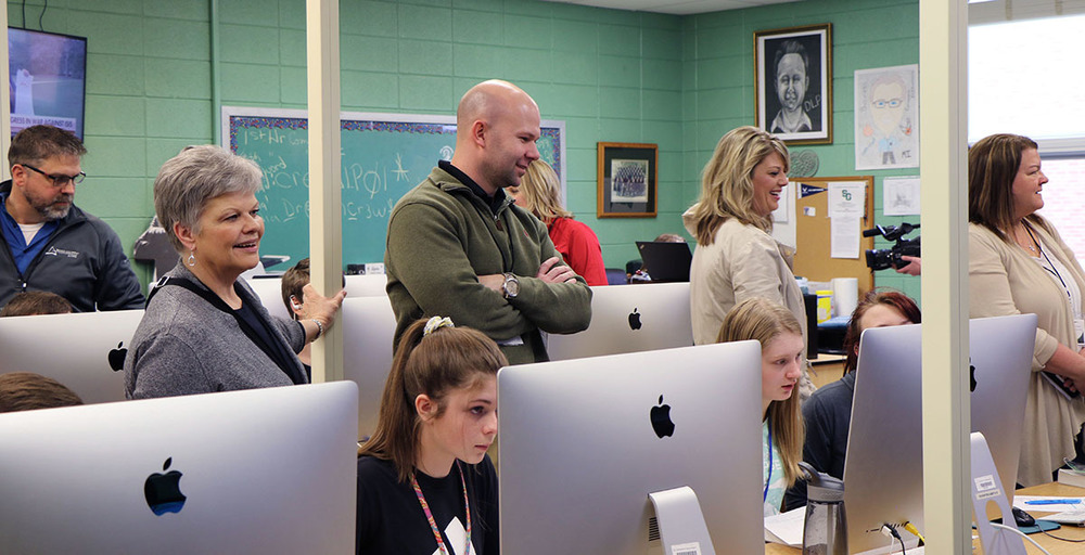 Ste. Genevieve R-II Hosts Chamber Leadership Meeting, Showcases Programming