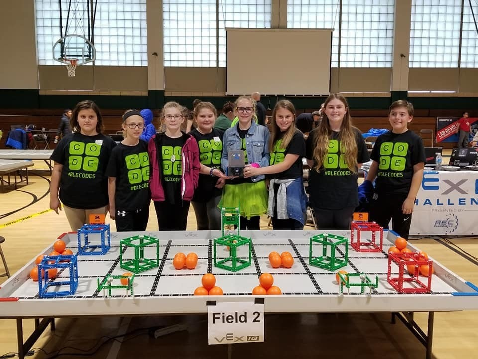 Bloomsdale Elementary Robotics Teams Show Leadership at Competition