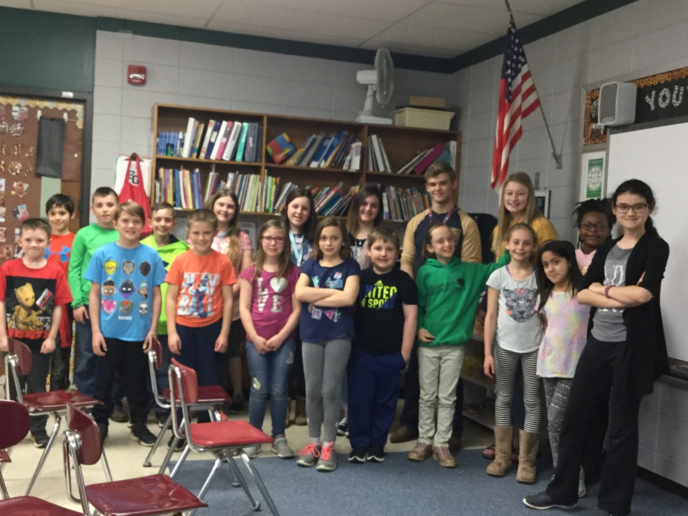 Dragon Lair Productions Visits Bloomsdale Broadcast Students