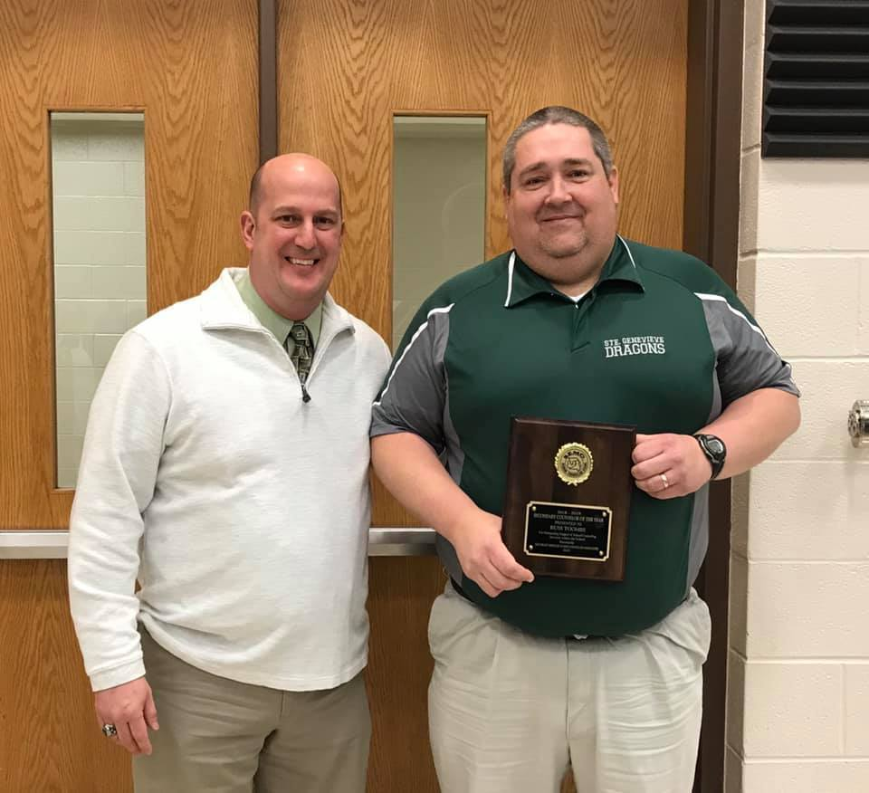 SGHS Counselor Russell Toombs Named 2018-2019 SEMO Counselor of the Year