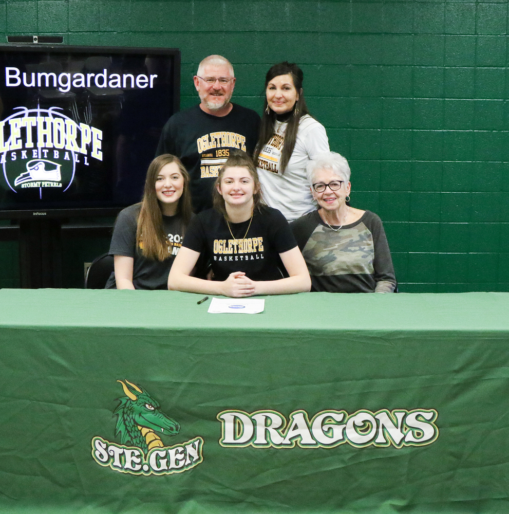 Ste. Genevieve High School Senior Sydney Bumgardaner Signs with Oglethorpe University