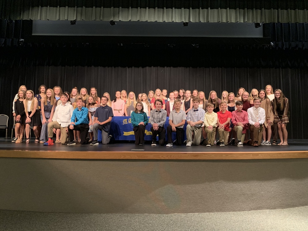 NJHS Holds Annual Induction, Welcomes New Members