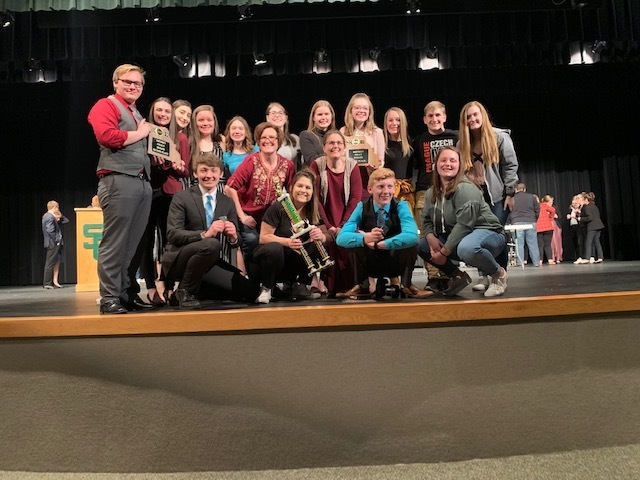SGHS Speech & Debate Team Rocks District Competition, Many Qualify for State