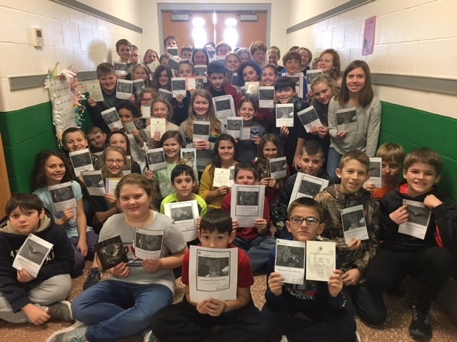 Bloomsdale Elementary Fourth Grade Science Classes  Raise Awareness of Endangered Species