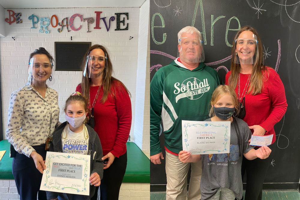 Ste. Genevieve Elementary Students Win Local VFW Auxiliary Contests