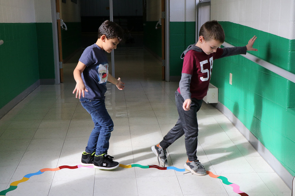 Bloomsdale Elementary Launches Sensory Hallway for Students