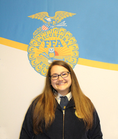 FFA Graduate Awarded Highest State FFA Honor