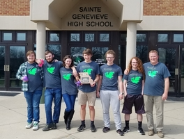 SGHS Scholar Bowl Team Wins District Championship
