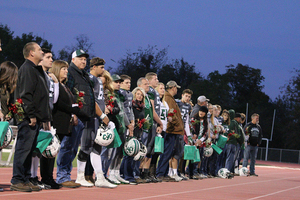 Ste. Genevieve Football Triumphs Over Brentwood at Senior Night