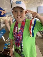 SGE Students Place in Junior Olympics for Swimming