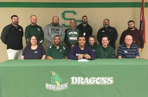 Senior Isaac Boyd  Signs with McKendree University