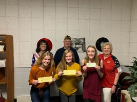 SGHS Students Recognized Through Voice of Democracy Contest