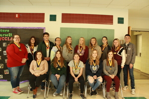 FBLA Members Bring Home Medals From District Leadership Conference