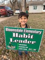 Bloomsdale Elementary Hosts Habit Leader Ceremony