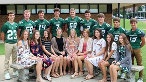 SGHS Homecoming Court