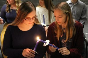 SGHS National Honor Society Holds Annual Induction Ceremony