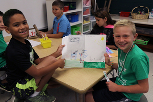 Bloomsdale Elementary Art Room Launches Teaching for Artistic Behavior