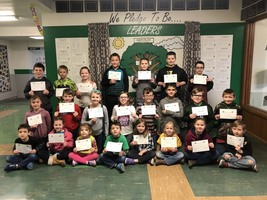 Ste. Genevieve Elementary Students Make February Student of the Month