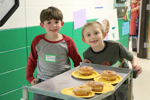 First Grade Students Launch Sweets Shops & Donate Funds