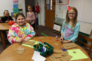 Students Take On Boat-Building in Library STEM Activity