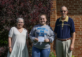 Senior Abbey Engelmann Receives Timothy Koetting Memorial Scholarship