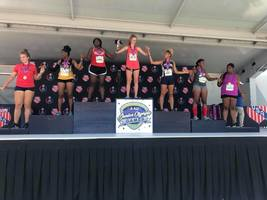 SGHS' Marysa Flieg Earns 1st Place in Javelin at AAU Junior Olympics