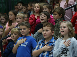 Ste. Genevieve R-II Honors Veterans & Service Members  Through School Programs