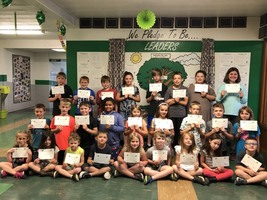 Ste. Genevieve Elementary Students Make May Student of the Month