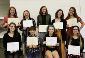 Women's Club Recognizes Award Winners