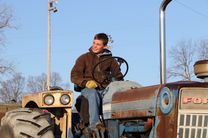 Ste. Genevieve R-II FFA Celebrates Drive Your Tractor to School Day