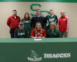 Ste. Genevieve High School Senior Alyssa Huber Signs with Mineral Area College