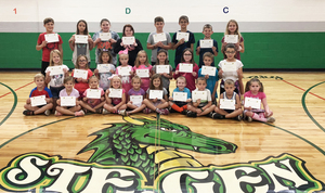Ste. Genevieve Elementary Celebrates September Student of the Month