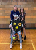 SGMS World History Class Holds Third Annual Office Chair Joust